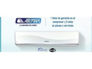 Airmax 18 seer, Carlito's Air Conditioning Puerto Rico
