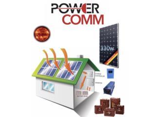 Kit de Sistemas Solares e Instalación, PowerComm, Inc 7873900191 Puerto Rico