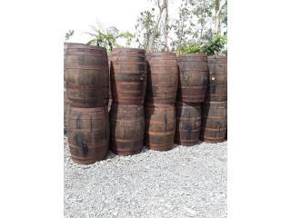Barriles Rusticos importados, NEBRIEL ENVASES DE PUERTO RICO Puerto Rico