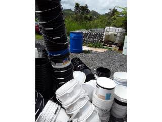 Pailas de 4 gl, NEBRIEL ENVASES DE PUERTO RICO Puerto Rico
