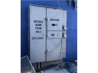 Meters Bank de dos contadores w/ MB 1,250 A, All Industrial Equipment Puerto Rico