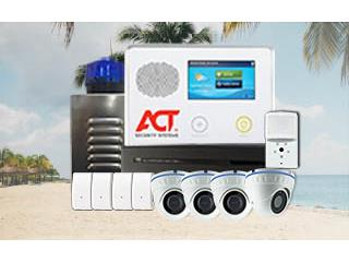 6CAMARA Y ALARMA GRATIS, ACT Security Systems Puerto Rico