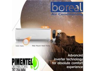 Boreal inverter 18 seer, Carlito's Air Conditioning Puerto Rico