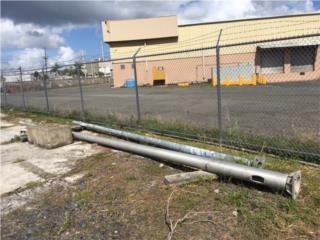 Postes en aluminio de 30'., All Equipment Puerto Rico