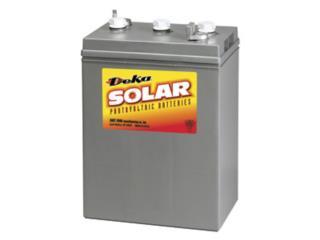 Bateria 8L16 6V 370AH 7 años garantía, MAXIMO SOLAR INDUSTRIES Puerto Rico
