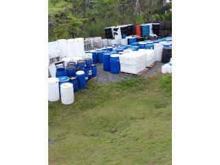 Drones plasticos desde 20 gl en adelante , NEBRIEL ENVASES DE PUERTO RICO Puerto Rico
