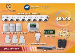 ADT tiene la mejor oferta con 8 cámaras, Home Media Tech Dealer Autorizado ADT Puerto Rico