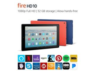 Tablet android Fire  10, @systems Puerto Rico