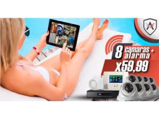 No busques mas ADT iiene tus 8 camaras HD1080, Home Media Tech Dealer Autorizado ADT Puerto Rico