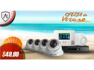 Ganga 8 cámaras inc. con alarma , Home Media Tech Dealer Autorizado ADT Puerto Rico