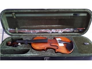 Violin 4/4 con estuche, arco y resina, Creative Sound Academy Puerto Rico