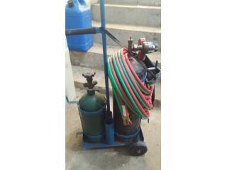 equipo de soldar acetileno oxigeno , Josue Refrigeration, Inc. Puerto Rico