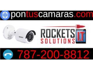 Camaras HD1080p, Rockets I.T Solutions Puerto Rico