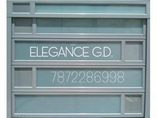 TRABAJOS DE CALIDAD GARANTIZADOS GARAJES ALUM, Elegance Garage Door's y Mas. Puerto Rico