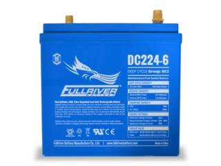 Batería DC224Ah-6V Fullriver AGM, CARIBBEAN ENERGY DISTRIBUTOR Puerto Rico