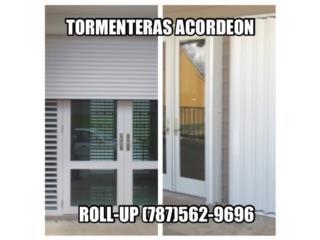 TORMENTERAS Contra Huracanes y Vandalismo, Instalaciones Negron Puerto Rico