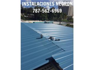 Carolina Puerto Rico Calentadores de Agua, Techos en aluminio