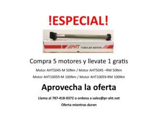 Especial - Compre 5 motores y lleve 1 gratis , PR AHT Puerto Rico