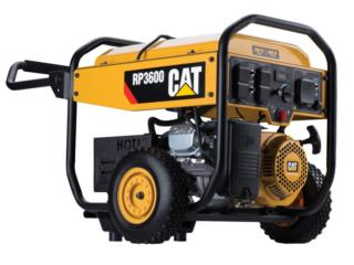 Cat 3,600-Running-Watt Portable Generador, Mf motor import Puerto Rico