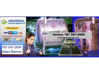 CISTERNA EN SS 304 DE 450,600,780 Y 1200 GAL, ECO SOLAR PRODUCTS 787-597-2094 Puerto Rico