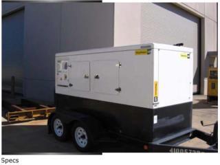 PLANTA ELECTRICA PERKINS 80KW (1P-3P), PowerGens & Equipments Puerto Rico