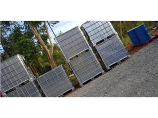 Tanques de agua 275 glns food grade , NEBRIEL ENVASES DE PUERTO RICO Puerto Rico