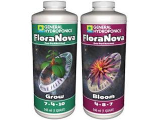 FLORA NOVA(BLOOM,GROW) Qt, gal, 2.5gal, Hydro Shop PR Puerto Rico