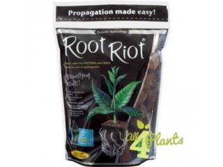 Root- Riot-refill bag-50-cubes, 100 cubes, Hydro Shop PR Puerto Rico