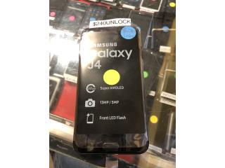 Samsung Galaxy J-4, Prepaid Mobile Puerto Rico