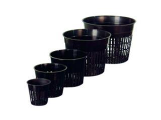 Net Pots - (2, 3, 4, 5 y 6), Hydro Shop PR Puerto Rico