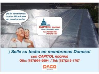 ¿TIENES FILTRACIONES EN SU TECHO?, CAPITOL Roofing Puerto Rico
