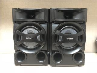 BOCINAS SONY , Reuse Outlet Store Puerto Rico