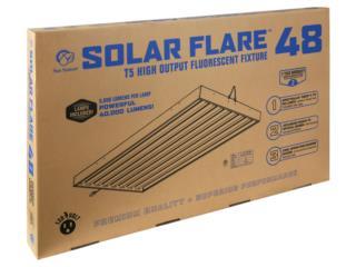 Solar Flare t5 Fixture 8 tubes 4 ft, Hydro Shop PR Puerto Rico