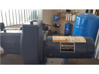 Bomba eléctrica 1 1/2 HP , Pentair- Sta-Rite, Puerto Rico Water Puerto Rico