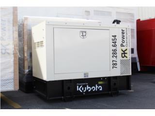 Kubota 10kW, RK Power Generator Corp. Puerto Rico