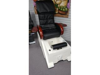 PEDI SPA / MODERNO /RECLINABLE / MASAJE, A Rosa Distributors Puerto Rico