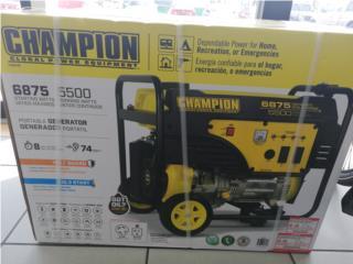 Champion 6875 @ 5500 nueva de paquete, La Familia Casa de Empeño y Joyería-Ponce 2 Puerto Rico