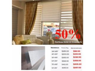 Grandes descuentos en cortinas, Vea precios, READY SHADES Puerto Rico