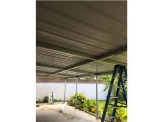 TECHOS EN METAL-ALUMINIO-GALVANIZADO, Instalaciones Negron Puerto Rico