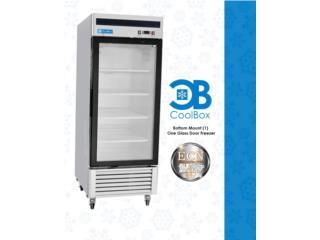 CoolBox Freezer de 1 puerta de cristal., COOLBOX EQUIPOS COMERCIALES Puerto Rico