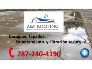 SELLA CON FIBERGLASS, A&P ROOFING Puerto Rico