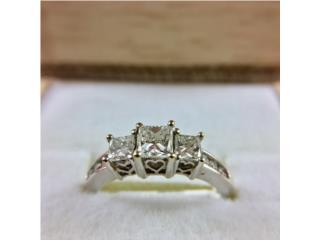 Anillo de Compromiso Oro 14kt y Diamantes, Cashex Puerto Rico