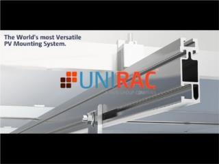 Rack para 3 paneles solares bases, Mundo Solar Puerto Rico