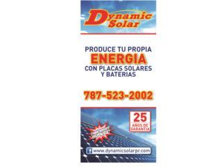 NO SE QUEDE A OSCURAS!, Dynamic Solar Puerto Rico