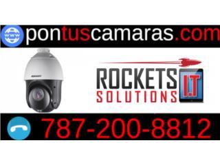 Camaras y control de acceso para tú empresa, Rockets I.T Solutions Puerto Rico