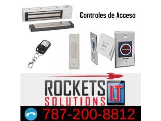 CONTROL DE ACCESO, Rockets I.T Solutions Puerto Rico