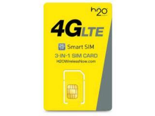 SIM H2O - ACTIVAMOS (SEÑAL ATT) 4G LTE, NRCELLULAR Puerto Rico