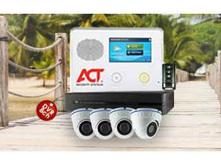 6Camaras+Alarma+Sirena y 0 PRONTO, ACT Security Systems Puerto Rico