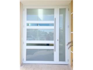 Puerta en Aluminio doble desigual , Homesolution Corp. Puerto Rico