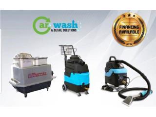 MAQUINAS DE SHAMPOO Y VAPOR , Car Wash & Detail Solutions Inc Puerto Rico